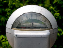 Medidor de estacionamento de nove horas Imagem de Stock Royalty Free