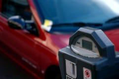 Medidor de estacionamento expirado Imagens de Stock