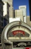 Medidor de estacionamento no.1 Imagem de Stock