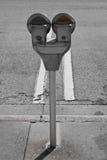 Medidor de Parkling Foto de Stock Royalty Free