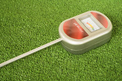 medidor de pH análogo del suelo Fotos de archivo