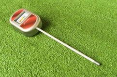medidor de pH análogo del suelo Foto de archivo libre de regalías