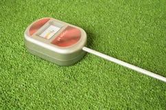 medidor de pH análogo del suelo Imagen de archivo libre de regalías