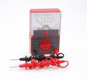 Medidor de teste elétrico Fotografia de Stock
