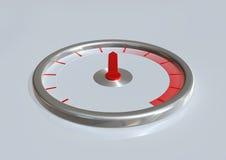 Medidor de velocidade ilustração do vetor