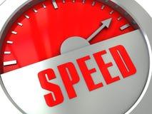 Medidor de velocidade ilustração royalty free