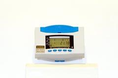 Medidor do monitor do custo Foto de Stock Royalty Free