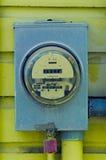 Medidor do quilowatt Imagens de Stock