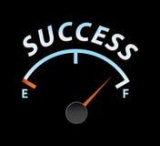 Medidor do sucesso Imagem de Stock Royalty Free
