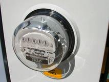 Medidor elétrico. Fotografia de Stock