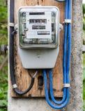 Medidor elétrico foto de stock royalty free