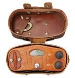 Medidor militar velho da radiação Foto de Stock Royalty Free