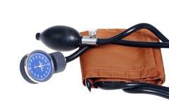 Medidor velho da pressão sanguínea da forma Fotos de Stock