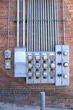 Medidores 2 Fotografia de Stock