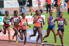 3000 medidores corridos - atletismo Imagens de Stock