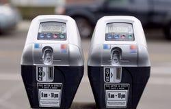 Medidores de estacionamento Foto de Stock Royalty Free