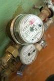 Medidores do consumo de água Fotos de Stock Royalty Free