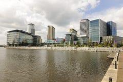 Medien-Stadt Stockfotos