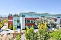 Medien und Ausbildungszentrum in De Anza College, Cupe Stockfoto
