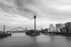 Medienhafen, Düsseldorf Royalty Free Stock Photography