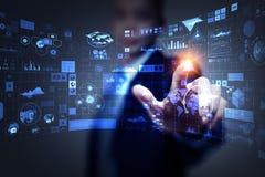 Medientechniken für Geschäft Gemischte Medien lizenzfreies stockfoto