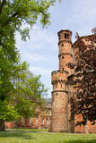 Medieval abbey at mettlach, saarland Stock Image