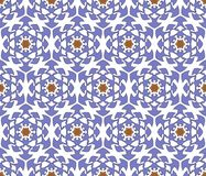 Medieval abstract floral pattern Stock Image