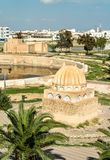 Medieval Aghlabid Basins in Kairouan, Tunisia Royalty Free Stock Photos