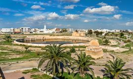 Medieval Aghlabid Basins in Kairouan, Tunisia Royalty Free Stock Photo