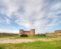Medieval Akkerman fortress near Odessa in Ukraine Stock Image