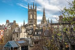 Free Medieval And Gothic Style City Centre Architecture In Aberdeen Downtown, Scotland Stock Photos - 159671243