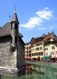 Medieval annecy jail, france Royalty Free Stock Image