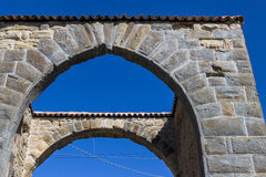 Medieval arch Stock Image