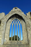 Medieval Arched window Co. Limerick Ireland Royalty Free Stock Photo