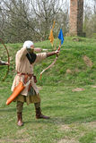A medieval archer Royalty Free Stock Photography
