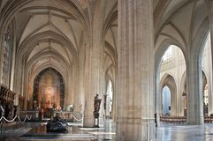 Medieval arches Royalty Free Stock Photography