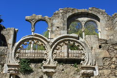 Medieval arches Royalty Free Stock Photo