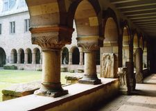 Medieval Arches. Of an old Monastery Royalty Free Stock Images