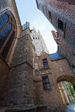 Medieval architecture Royalty Free Stock Image