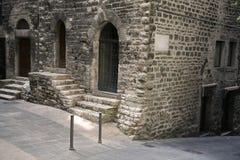 Medieval architecture. Urban medieval home - Perugia, Umbria, Italy Stock Photos