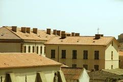 Medieval architecture bonifacio corsica Royalty Free Stock Image