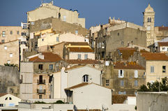 Medieval architecture citadel bonifacio corsica Royalty Free Stock Photos