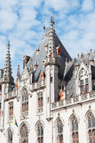 Medieval architecture in the city of Bruges Royalty Free Stock Images