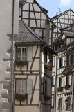 Medieval architecture of Colmar Royalty Free Stock Image