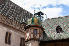 Medieval architecture of Colmar Royalty Free Stock Images