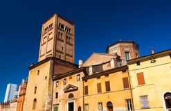 Medieval architecture of Mantova Mantua, Italy Royalty Free Stock Photo