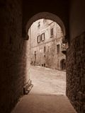 Medieval Architecture-Volterra Italy Royalty Free Stock Images