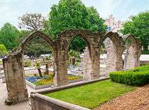 Medieval archs Royalty Free Stock Photo
