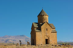 Medieval Armenian church. With clear blue skies in the background, Areni, Armenia Royalty Free Stock Image