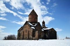 Medieval Armenian monastery. Medieval monastery of Saghmosavank in Armenia Royalty Free Stock Photo